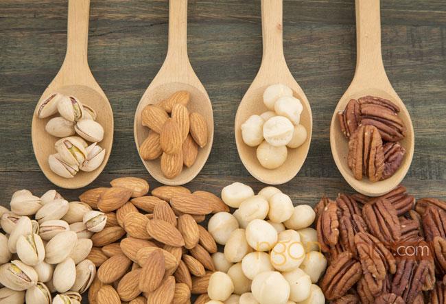 Axit folic có trong các loại hạt dinh dưỡng