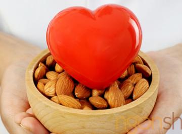 Hạt hạnh nhân tác dụng tốt lên tim mạch
