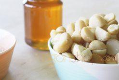 hạt mắc ca tẩm mật ong