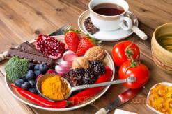 Ăn trái cây rau củ giúp trẻ lâu
