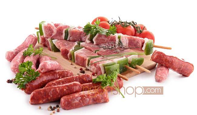 Thịt đỏ là nguồn thực phẩm chứa nhiều sắt