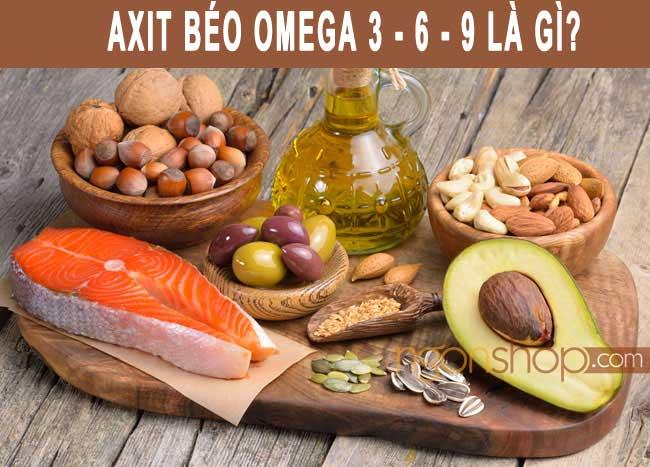 Omega 3 6 9 là gì